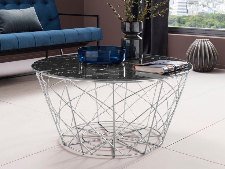 Places Of Style Beistelltisch Rund In Marmoroptik Jetzt Bestellen Unter Moebel Coffee Table 2019 Beistelltisch Rund Beistelltische Couchtisch Retro
