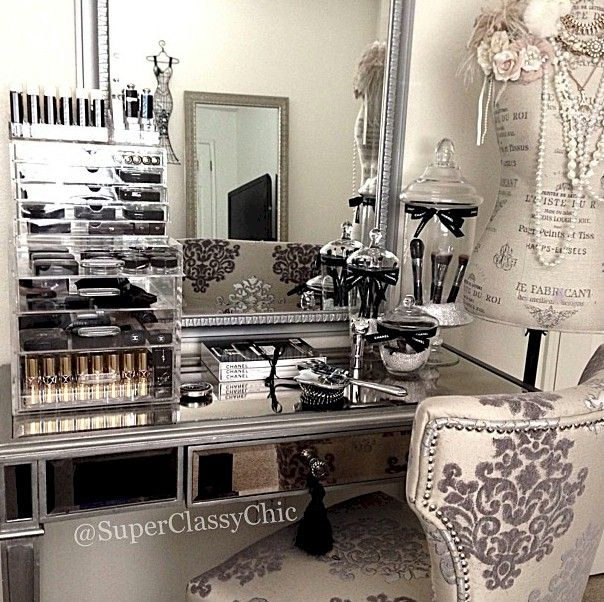 Click To DOWNLOAD, My Dream Beauty Room Planner for #makeup organization and #beautyroom décor.  This Beauty Room Design is by @jessaabbycouture