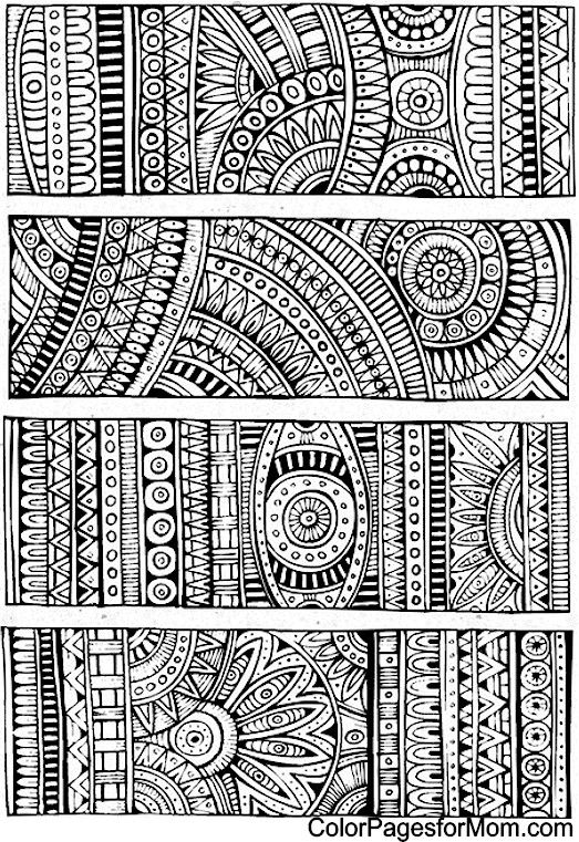 Doodles 5 Coloring Page