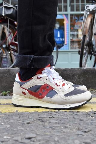 6d453346b018 Saucony Mens Shadow 5000 Vintage Off White