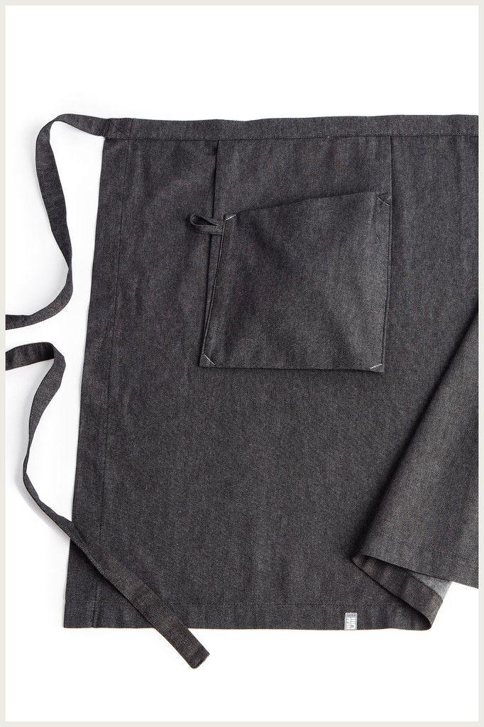 Shannon Reed - Designer Half Apron - Hanging Pocket