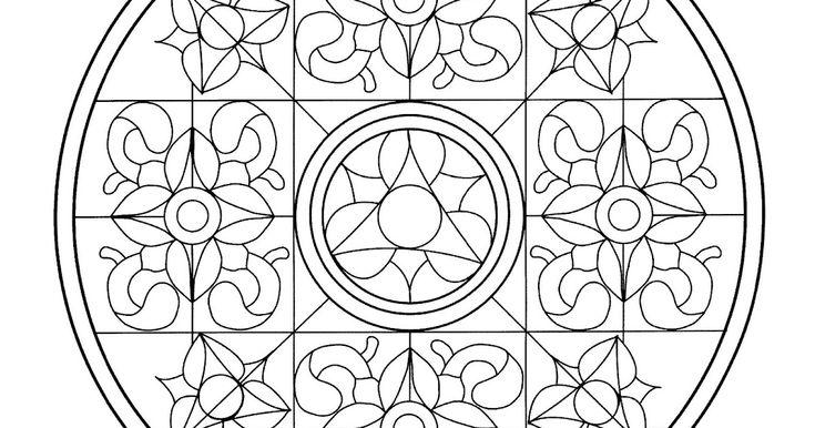 149 Dibujos Para Imprimir Colorear O Pintar Para Niños: Más De 25 Ideas Increíbles Sobre Mandala Para Imprimir