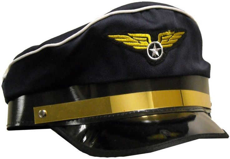 Airplane Pilot Adult Hat - 1 Units