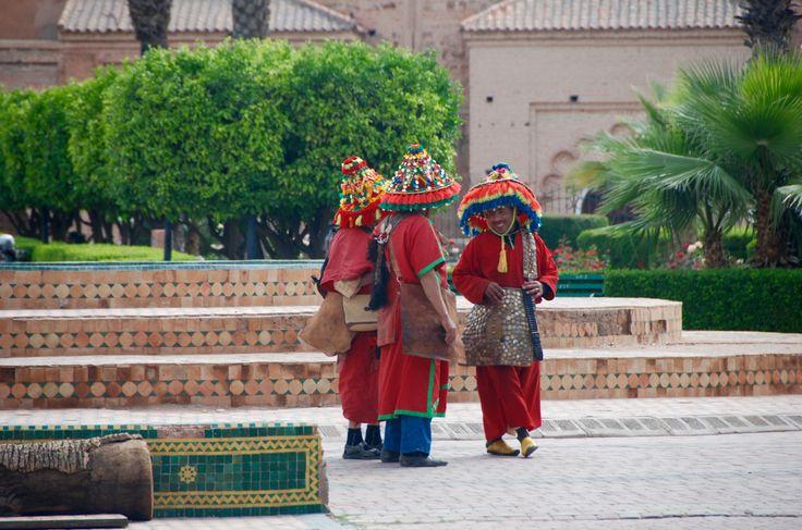 Vendedores de água - Marraquexe - Marrocos 2016