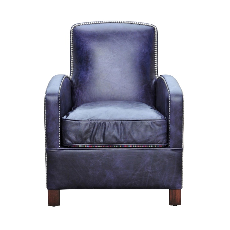 17 Best images about Blue – Navy Blue Leather Chairs