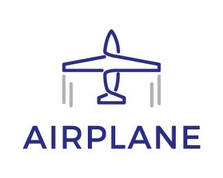 Logo Design - Airplane