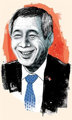 Singapore's PM talks about Japanese aggression, Ukraine's revolution and why nanny states are not all bad