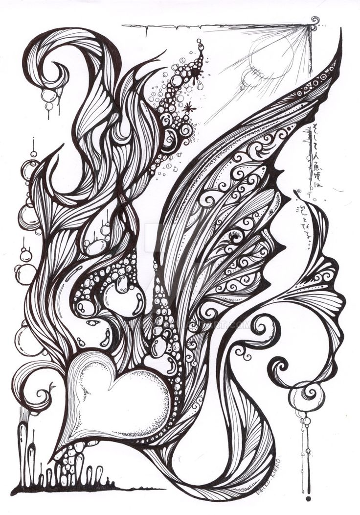 doodle heart coloring page 452 best images about coloring to clear my mind on 4277