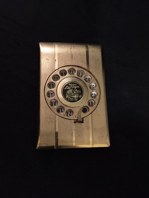 Address Finder Telephone  Rotary Dial A Name Index Gold