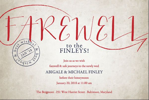 16  farewell lunch invitation templates