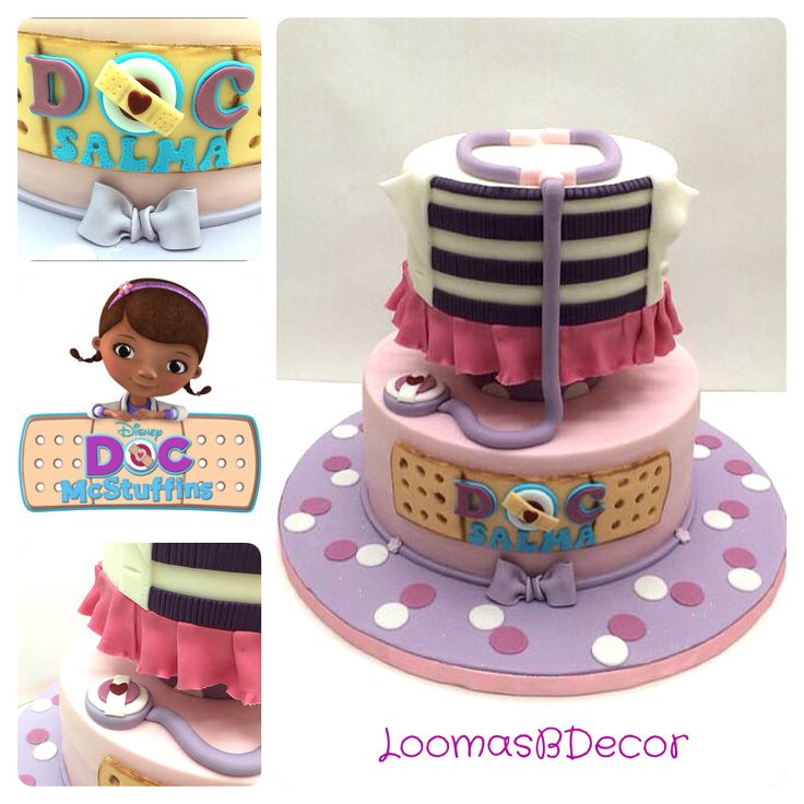 17 Best images about Doc McStuffins cake/party ideas on Pinterest Doc McStuffins, Party ...