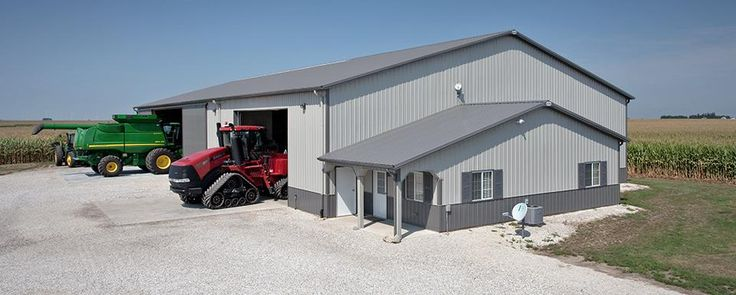 49 best images about combination farm shops machine for Shed office combo
