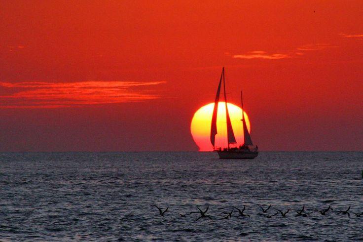 Sunset Pier, Key West, sunset
