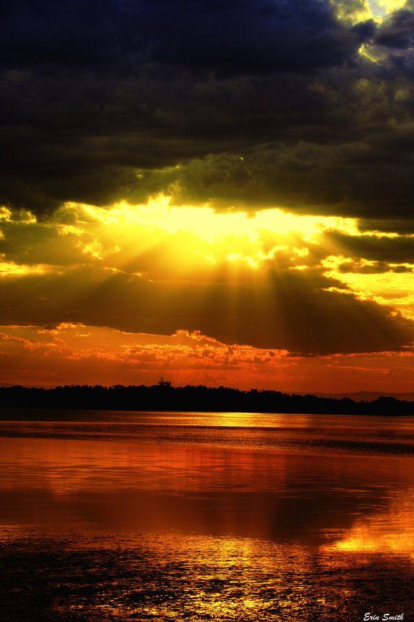 Looks like light from heaven!