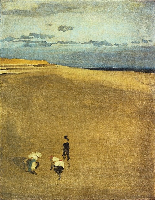 James McNeill Whistler (American, 1834-1903), The Beach at Selsey Bill