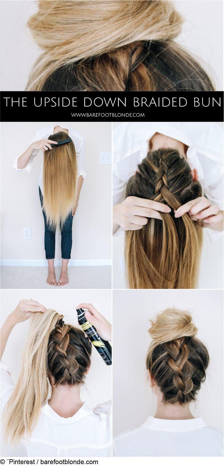 Chignon facile pour cheveux longs.jpg: