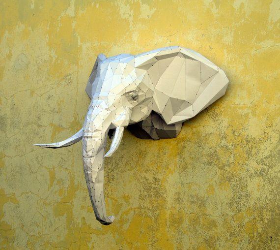 Faire votre propre Sculpture d'éléphant. Éléphant par PlainPapyrus