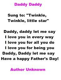 Image result for kindy poems for fathers day