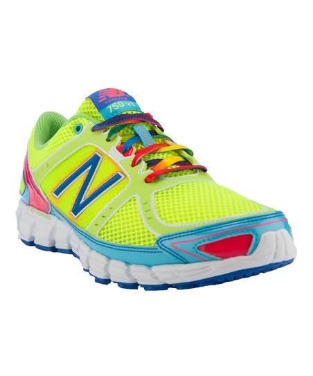 Neon Yellow 750 Running Shoe - Women