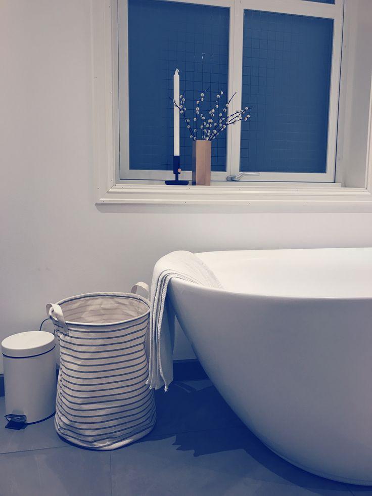 Baderom badekar kremmerhuset ikea fermliving modern messing