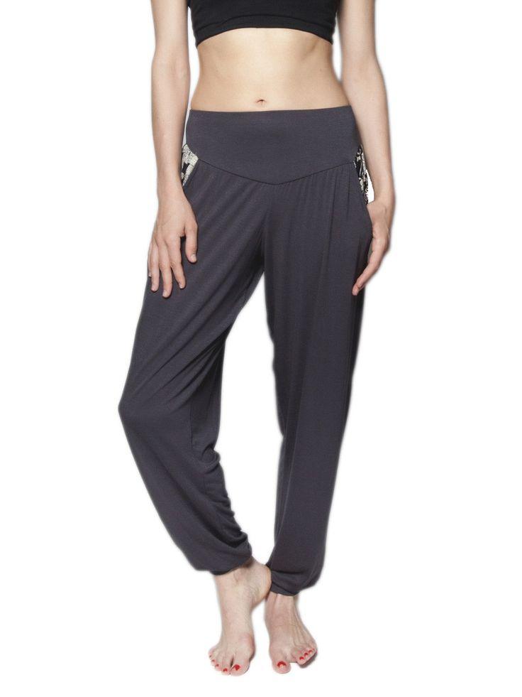 Kihari Gray Yoga Pants
