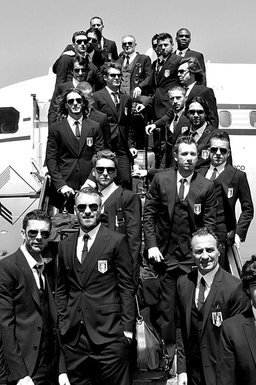 Italy National Football Team- it seriously doesn't get better than this