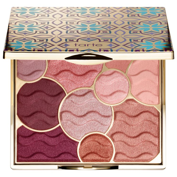 Tarte Limited-Edition Buried Treasure Eyeshadow Palette, new for holiday 2017