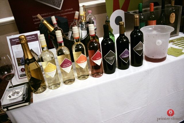 Wines by Taschner, from Sopron, Hungary