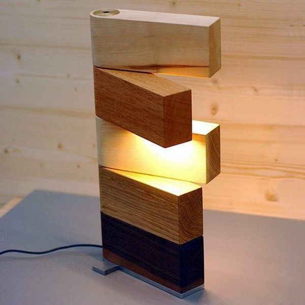 Lamps Made Of Wood Providing Natural Charm And Individuality
