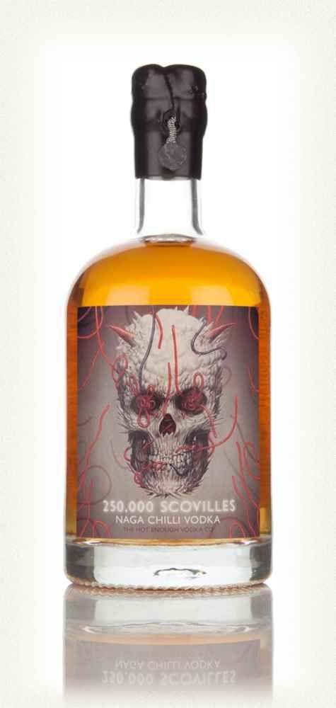 250,000 Scovilles Naga Chilli Vodka 50cl