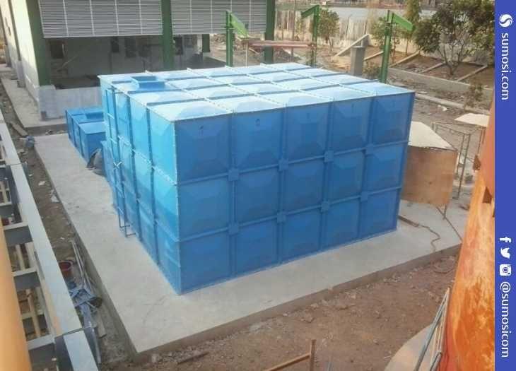 Jual Tangki Air Kotak Tandon Air Panel Rooftank Modern Air Tank