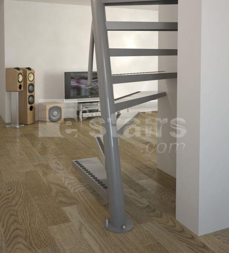 Superior Escalier Peu De Place #4: Escalier Gain De Place 1m2