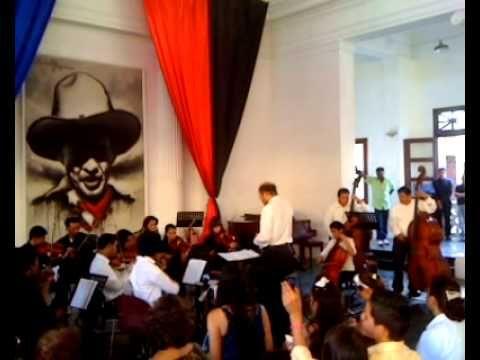 Orquesta de la Escuela Nacional de Música Luis Abraham Delgadillo - Diciembre 2012 - 3 - YouTube
