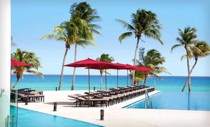 Azul Fives Hotel, Playa del Carmen, Mexico #hotel #travel