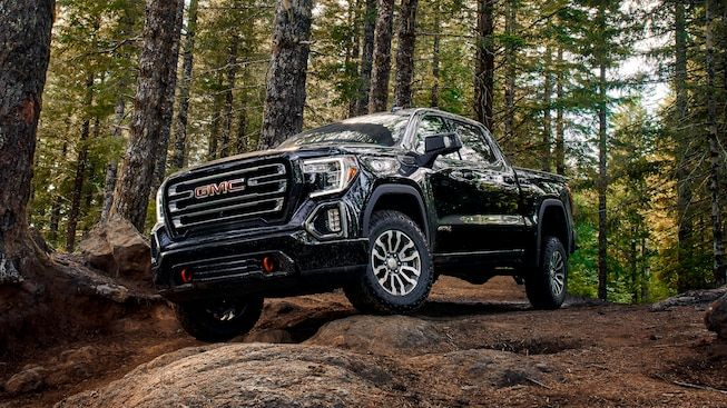 2019 Gmc Sierra At4 Off Road Pickup Truck Two Inch Lift Gmc