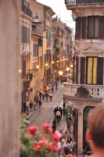 Rome streets.