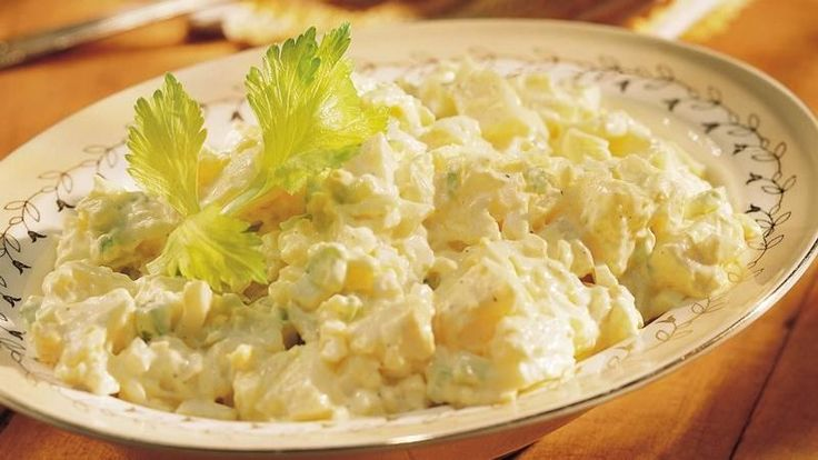 must for picnics! This classic potato salad takes only 10 minutes of ...