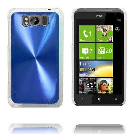 Aluminium Shield (Blå) HTC Titan Cover