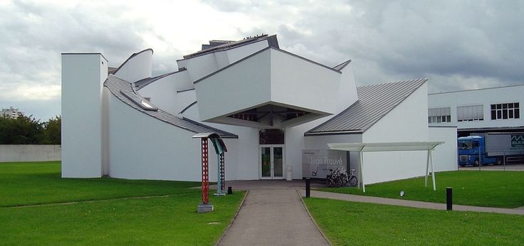 7 Buildings That Defined Frank Gehry's Legacy Vitra Design Museum, Weil am Rhein, Germany, 1989