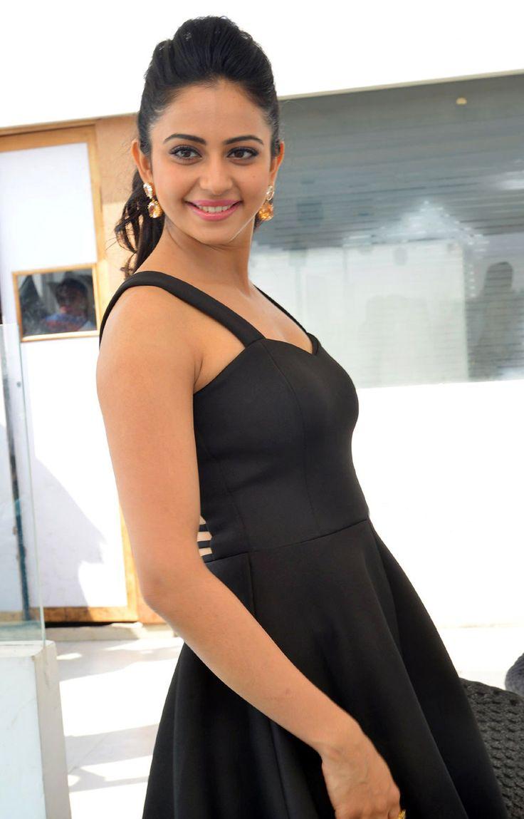 Rakul Preet Singh Images In Back Dress At Nannaku Prematho - #RakulPreetSingh http://www.manchimovies.com