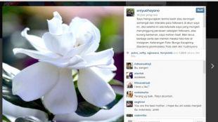 Ani Yudhoyono apologize to instagram users