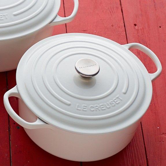 Le Creuset Signature Cast-Iron Round Dutch Oven | Williams-Sonoma  Mama wants!!