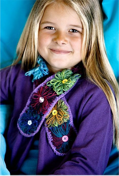 Flot Flower Loom halstørklæde