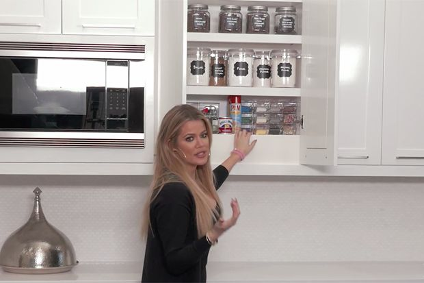 This Is What Khloé Kardashian Keeps in Her Baking Cabinet