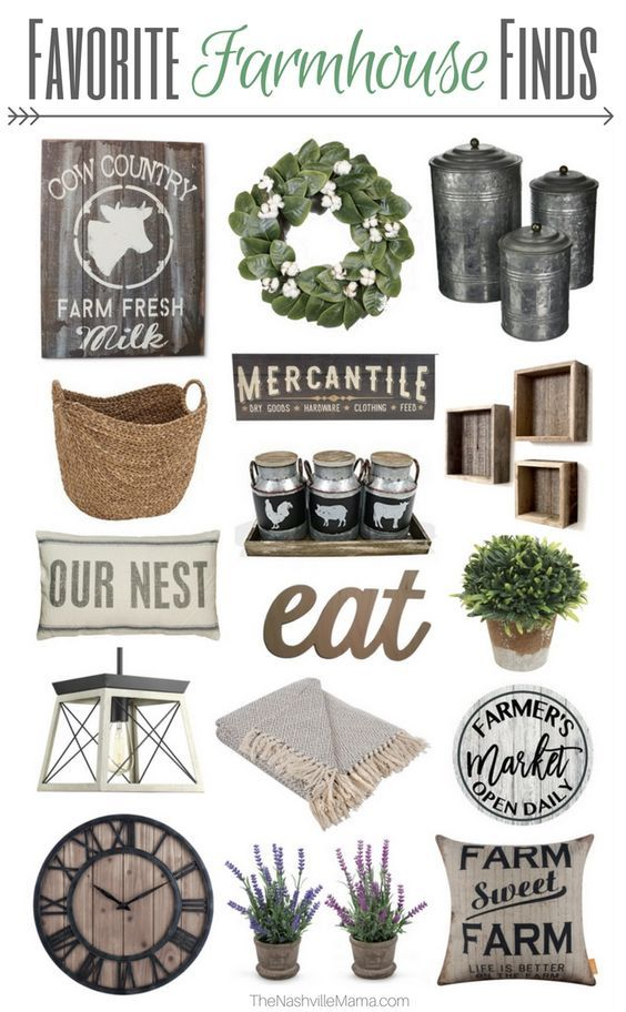 Favorite Farmhouse Finds for your Home – Fixer Upper Style