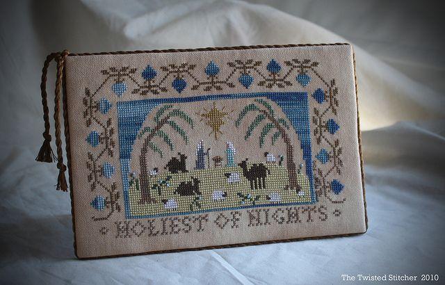 Holiest of Nights  Designer: Sandra Sullivan ~ Homespun Elegance