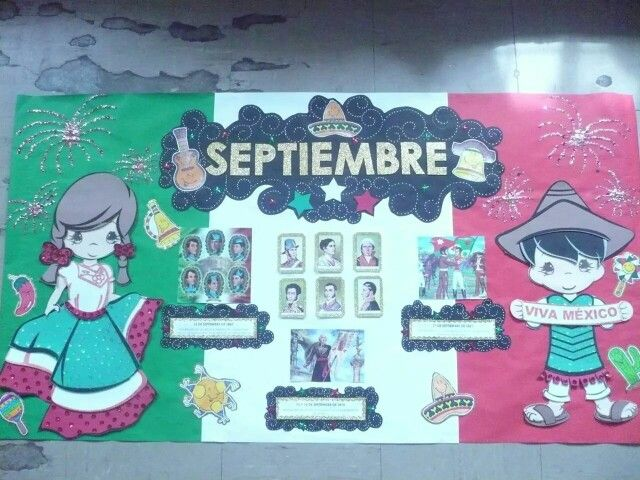 Decoracion Septiembre Kinder ~ Explore Decoration, Peri?dico Mural, and more!