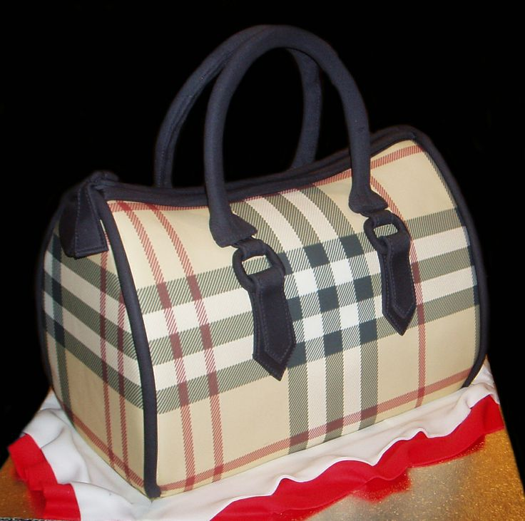 3d Burberry Handbag Birthday Cake By Nada S Cakes
