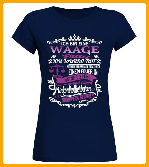 ICH BIN EINE WAAGE FRAU - Shirts für eltern (*Partner-Link)