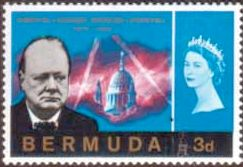 Bermuda 1966 Churchill Set Fine Mint SG 189 192 Scott 201 204 Other Bermuda Stamps HERE